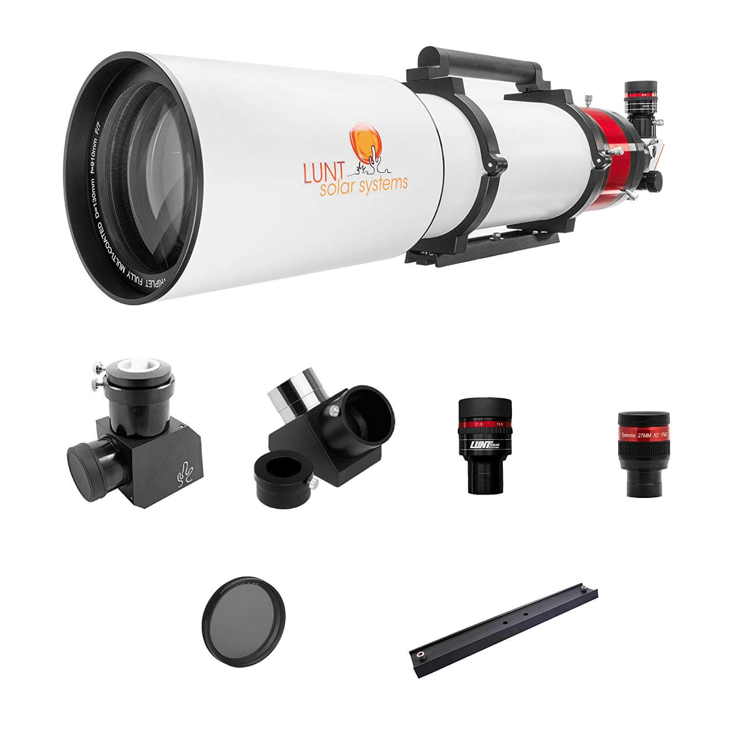 LUNT 130mm Observer Package w/ 12MM Blocking Filter - LS130MT