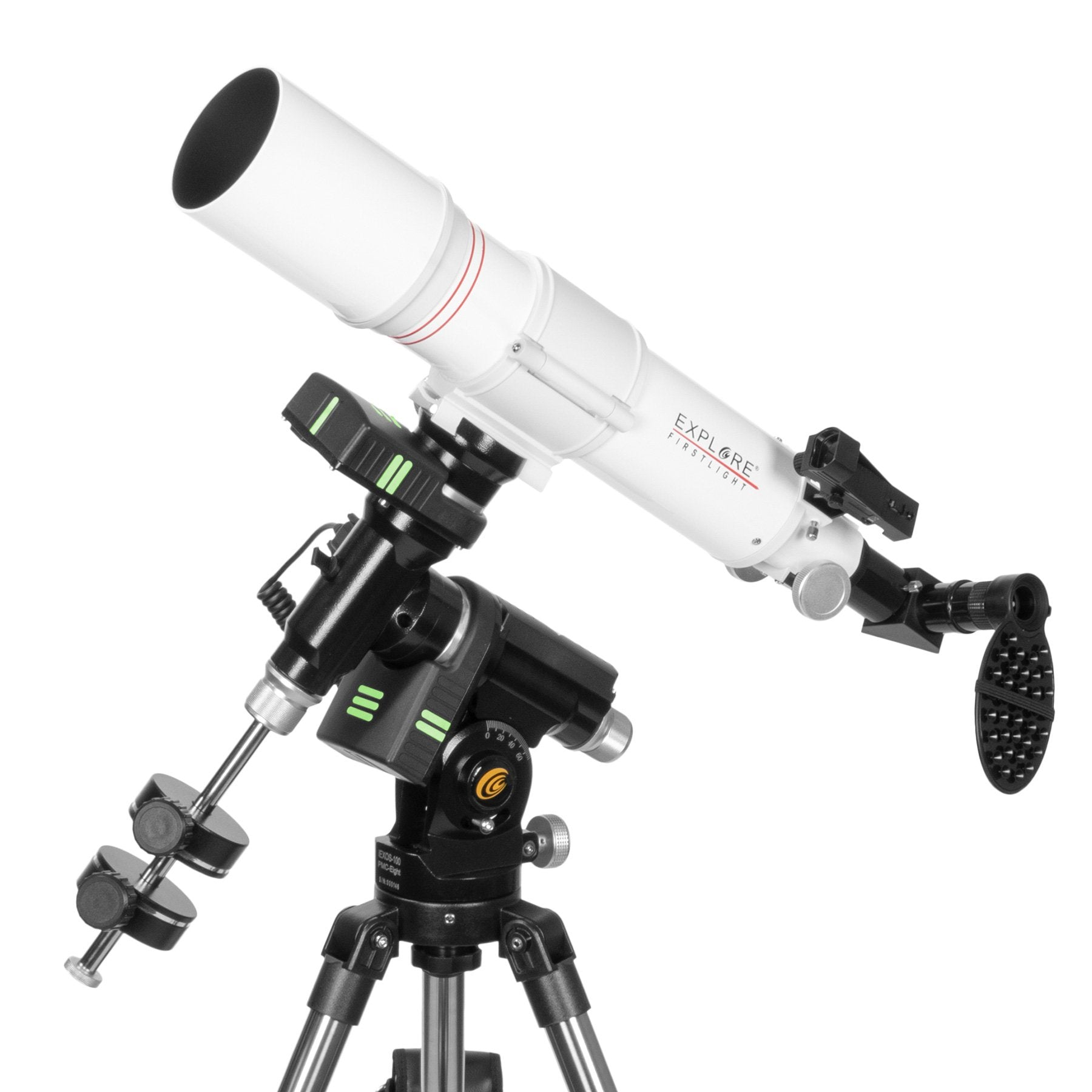 Explore FirstLight 80mm Refractor w/ iEXOS Go-To Mount Bundle