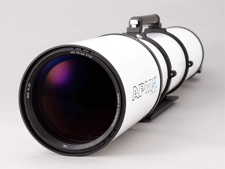 APM Refractor Telescope Doublet ED Apo 152 f/7.9 OTA with 3.7″ focuser
