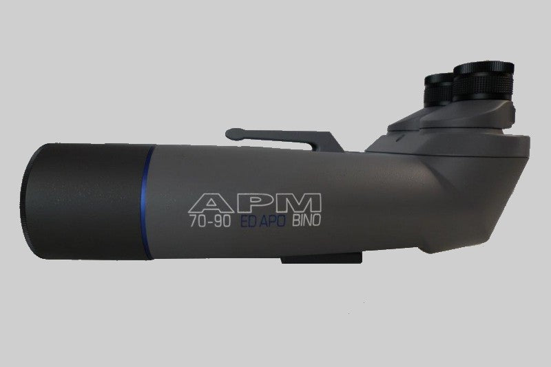 APM 70mm 90 Degree ED APO Binocular w/ 1.25″ Eyepieces Holders