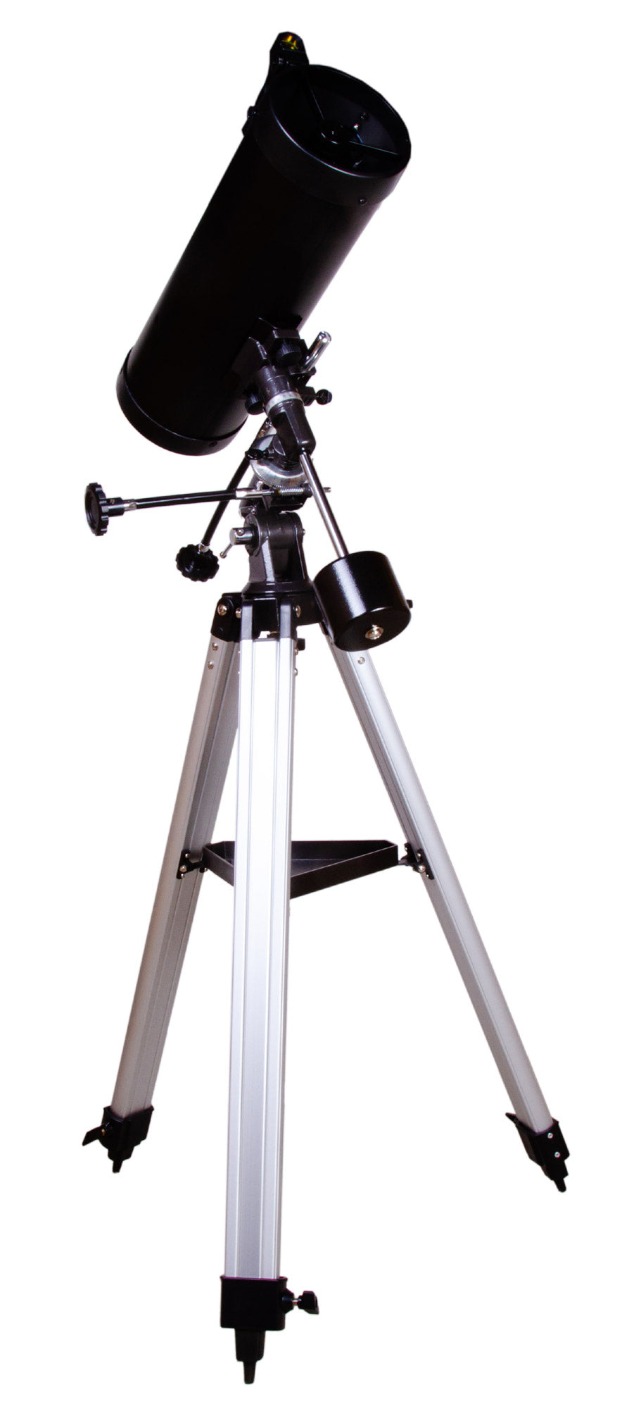 Levenhuk Skyline Plus 115S Newtonian Reflector Telescope with Short Focus and Anti-Reflective Optics Coating for Deep Sky Observations