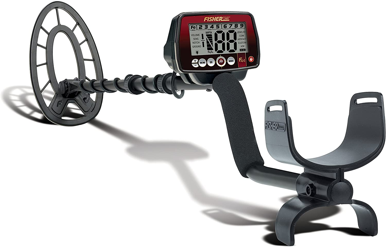 Fisher Labs F44 The Ultimate Weatherproof Multi-Purpose Metal Detector