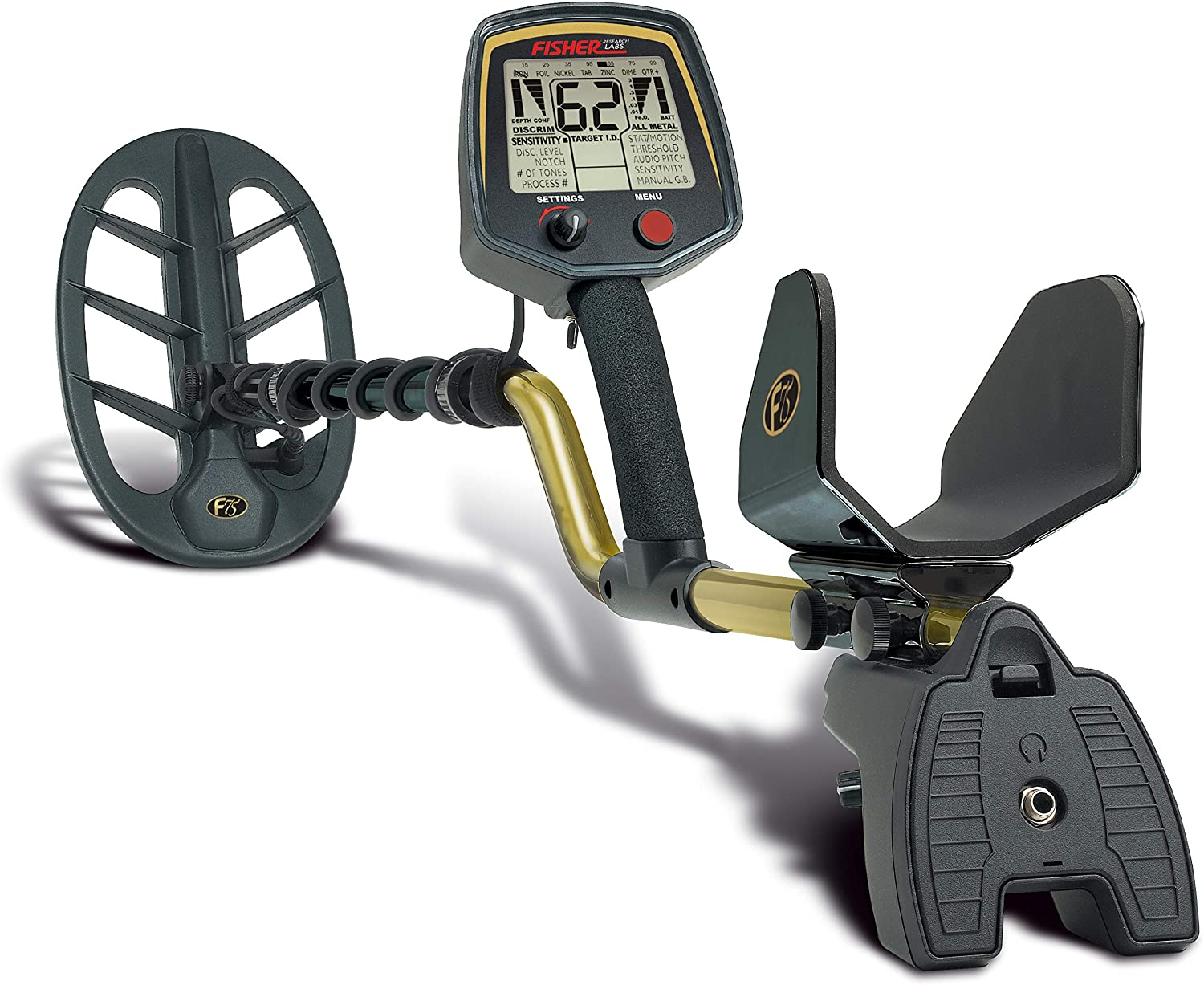 Fisher Labs F75 Advanced Visual & Audio Target ID Metal Detector