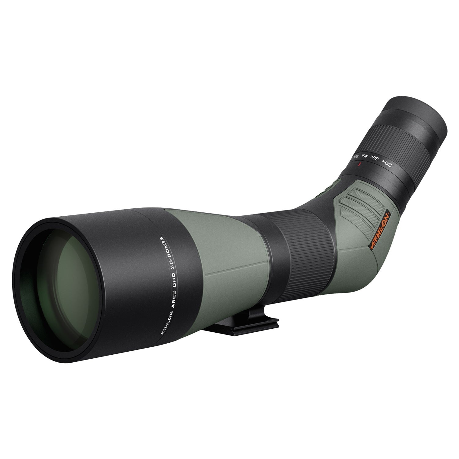 Athlon Optics Ares G2 UHD 20-60×85mm – 45 Degree Spotting Scope