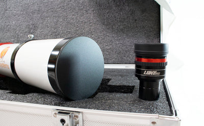 Lunt 80mm Solar Telescope Package - w/ 18mm Blocking Filter - Choice of Mount