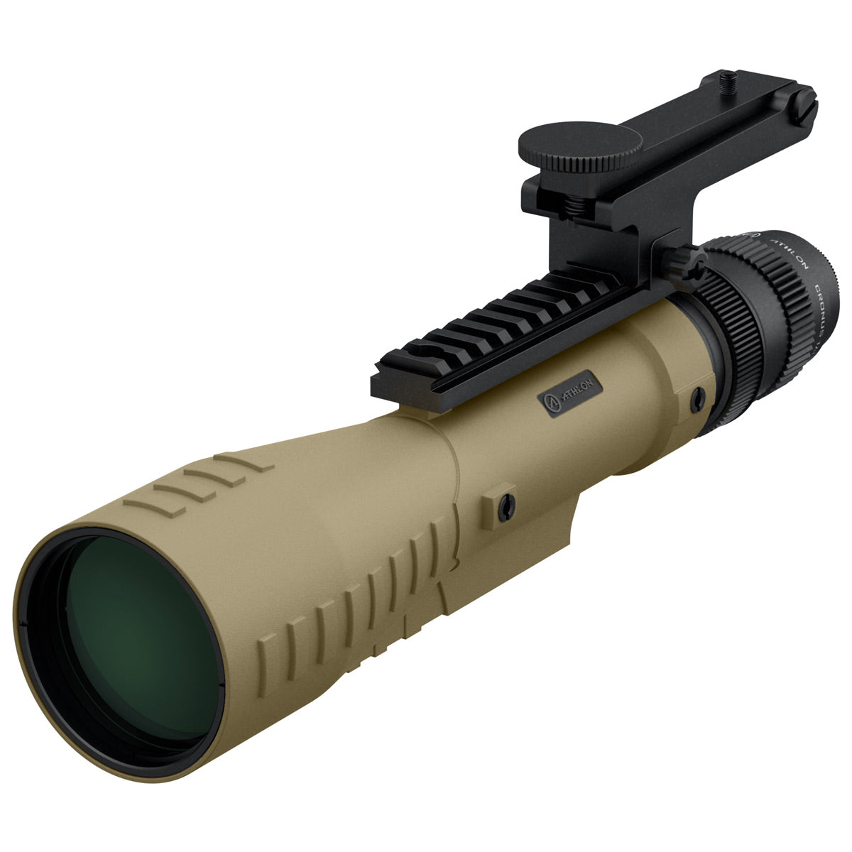 Athlon Optics Cronus Tactical 7-42x60mm UHD Spotting Scope - Tan
