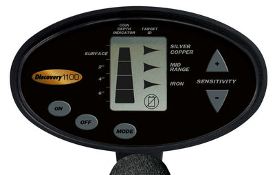 Bounty Hunter Discovery 1100 Metal Detector - DISC11