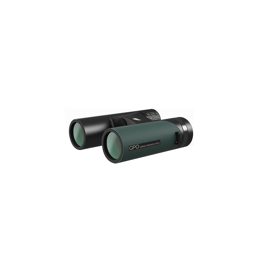 German Precision Optics GPO Passion ED 8×42mm Binoculars - Black/Green