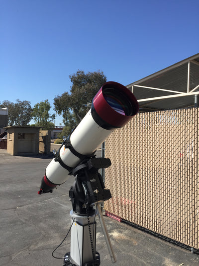 LUNT 230mm Double Stack Solar Telescope w/ 34mm Blocking Filter