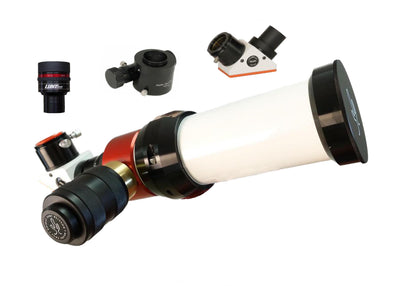 LUNT 50mm Solar Telescopes - 6mm Blocking Filter - Feather Touch Focuser - Zoom Eyepiece