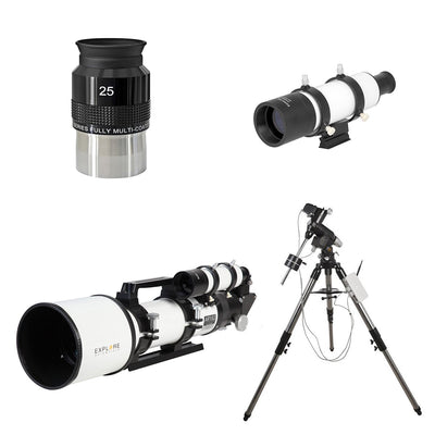 Explore Scientific AR102 Doublet Refractor w/ Go-To Mount Bundle