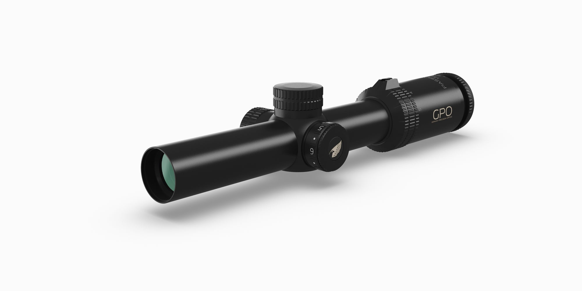 German Precision Optics Passion 5X 1-5x24i, reticle – G4i Riflescope