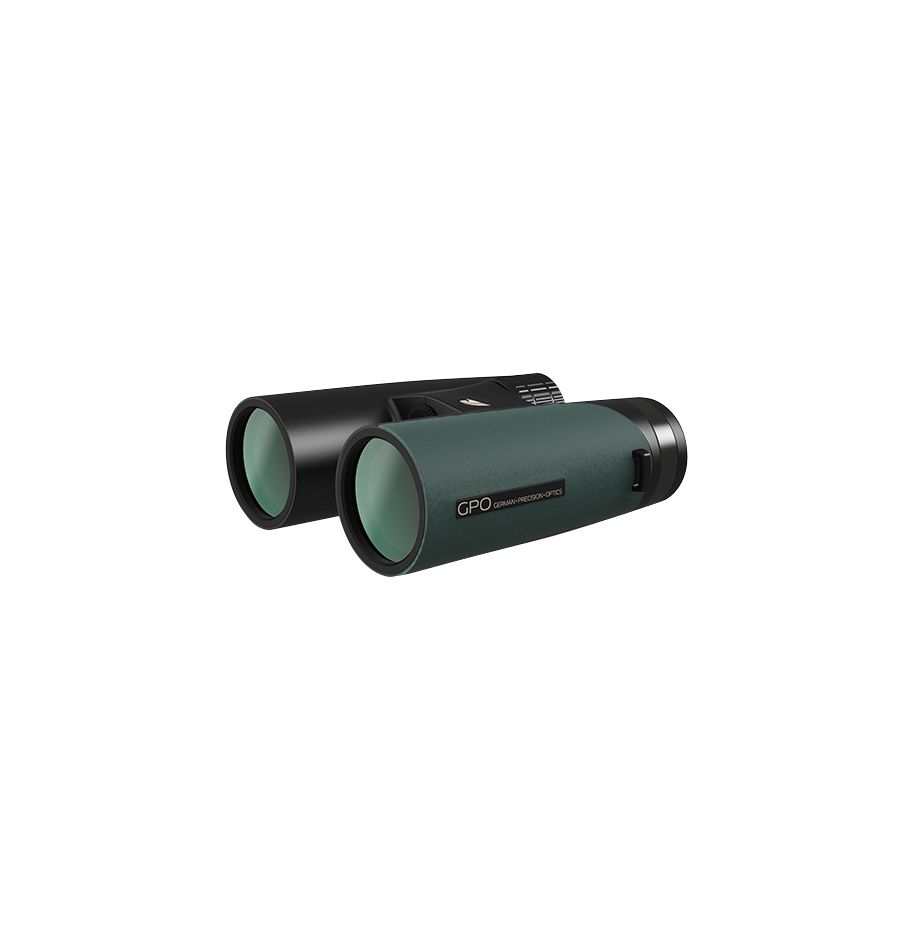German Precision Optics GPO Passion ED 10×42mm Binoculars - Deep Green