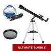 Bresser Arcturus 60mm AZ Carbon Fiber Telescope - Ultimate Bundle Package