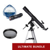Bresser Quasar 80mm Refractor w/ EQ Mount - Ultimate Bundle Package