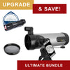 National Geographic NT114CF 114mm Carbon Fiber Reflector Telescope - Ultimate Bundle Package