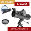 National Geographic NT114CF 114mm Black Carbon Fiber Reflector Telescope - Ultimate Bundle Package