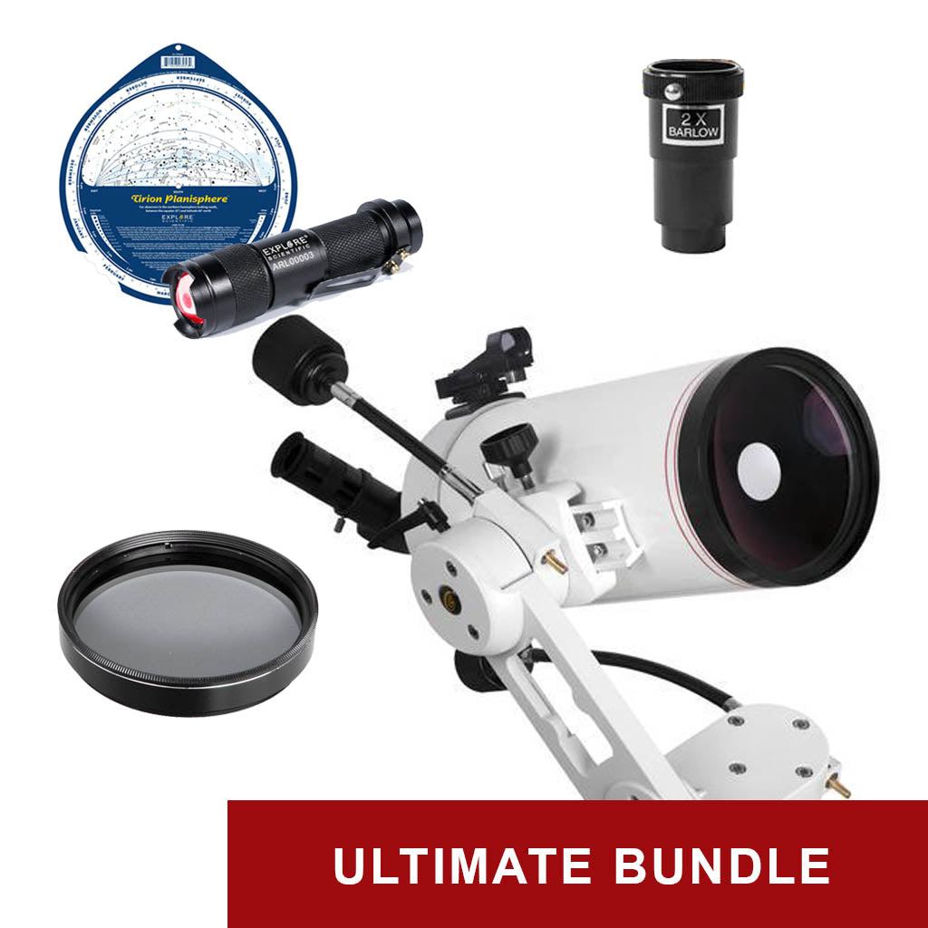 Explore FirstLight 127mm Mak-Cassegrain - Ultimate Bundle Package - w/ Twilight I Mount & Bonus Accessories