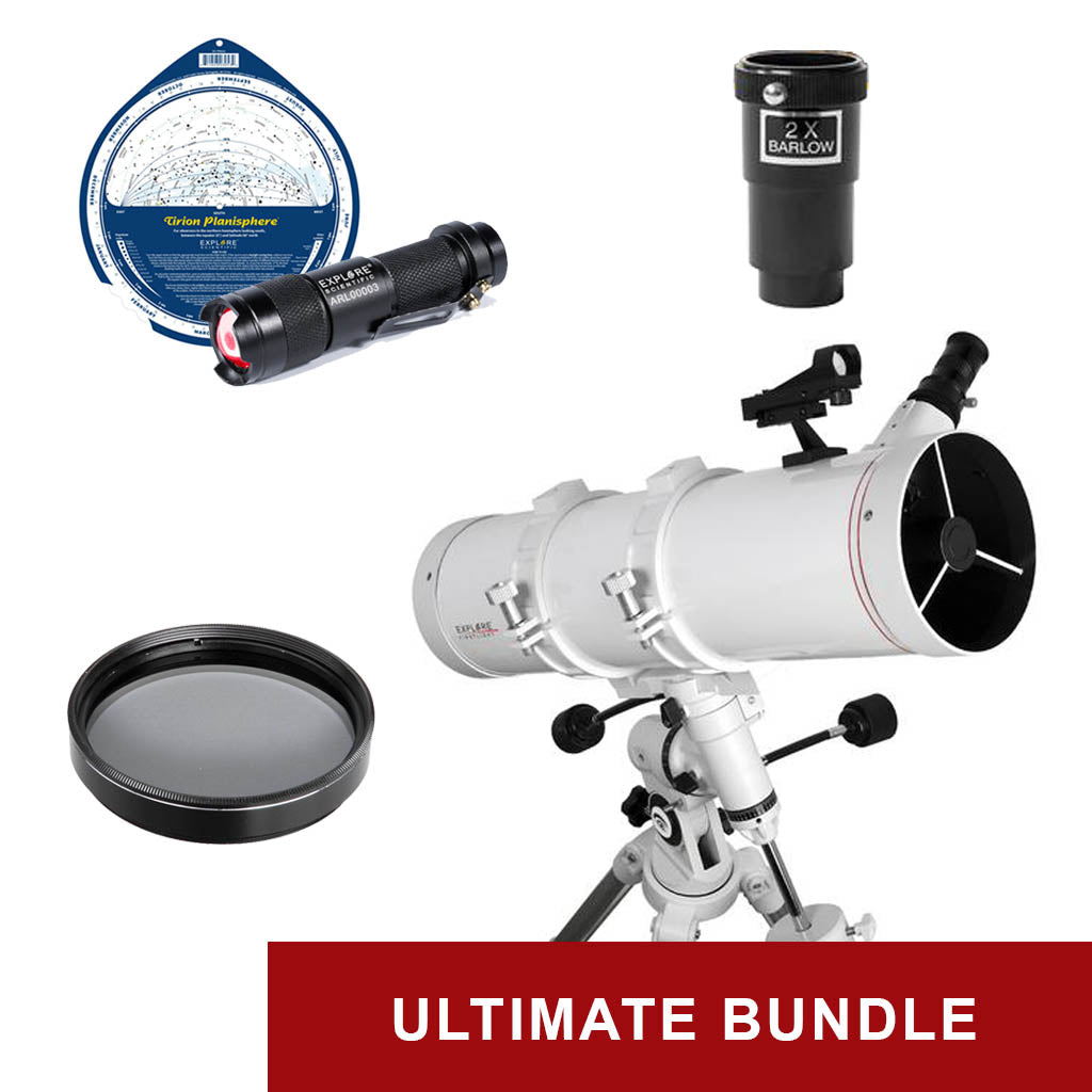 Explore FirstLight 130mm Newtonian - Ultimate Bundle Package - w/ EQ Mount & Bonus Accessories