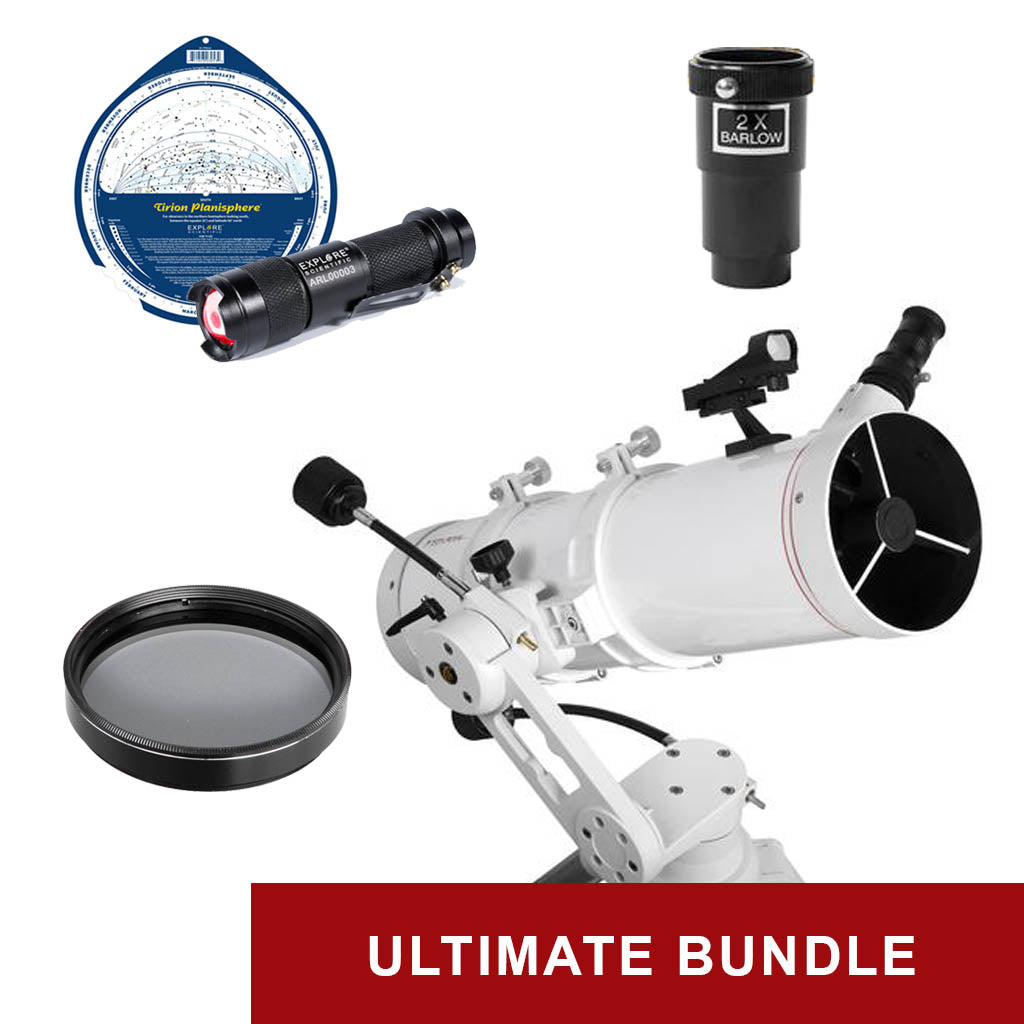 Explore FirstLight 130mm Newtonian - Ultimate Bundle Package - w/ Twilight I Mount & Bonus Accessories
