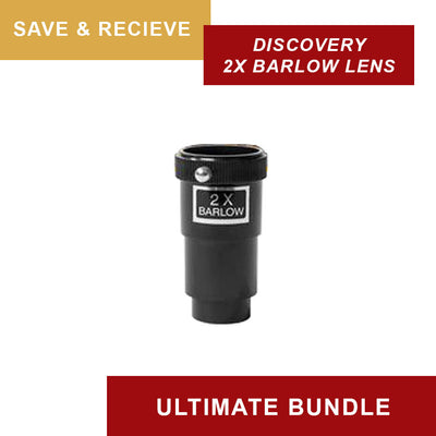 Explore FirstLight 80mm Refractor - Ultimate Bundle Package - w/ EQ Mount & Bonus Accessories
