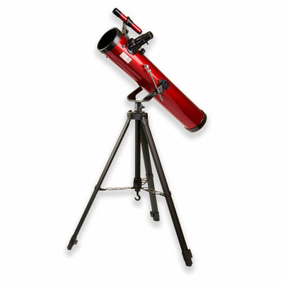 Carson 76mm Red Planet Newtonian with Smartphone Adapter Bundle - RP-100SP
