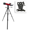 Carson 80mm Red Planet Telescope With Smartphone Adapter Bundle RP-200SP