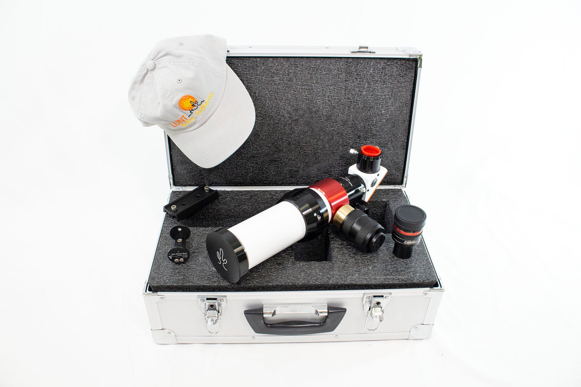 LUNT 50mm Solar Telescope Package Deal w/ 6mm Blocking Filter