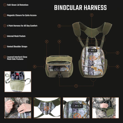 Athlon Optics Binocular Harness (Magnetic Closure)