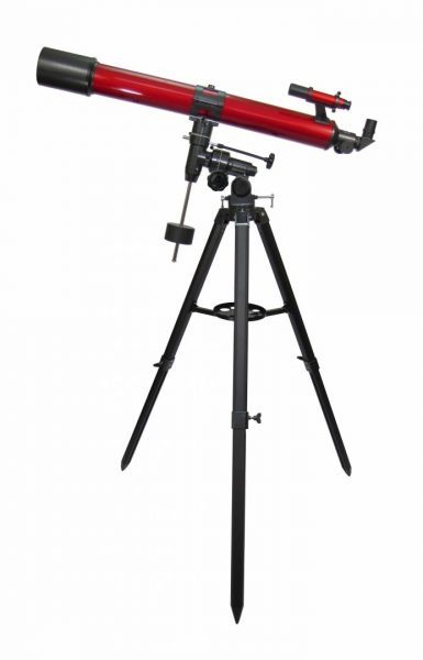 Carson 90mm Red Planet Telescope With Smartphone Adapter Bundle RP-400SP