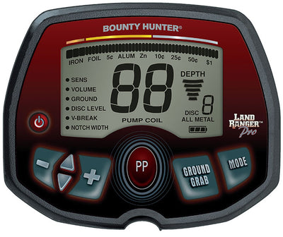 Bounty Hunter Land Ranger PRO Metal Detector - PROLR