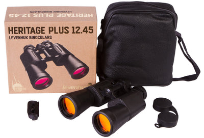 Levenhuk Heritage PLUS 12x45mm Military Binoculars