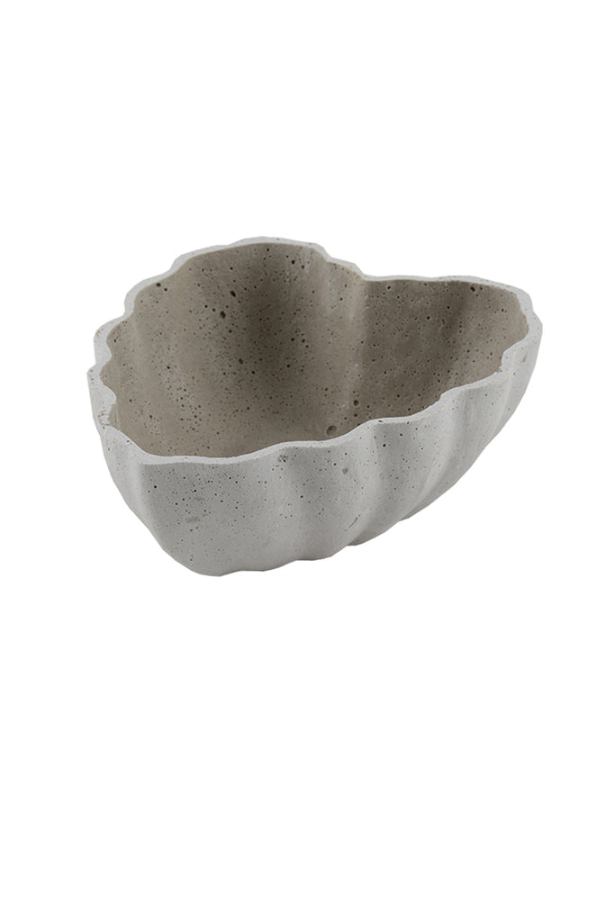 Scallop Edged Heart Shaped Bowl
