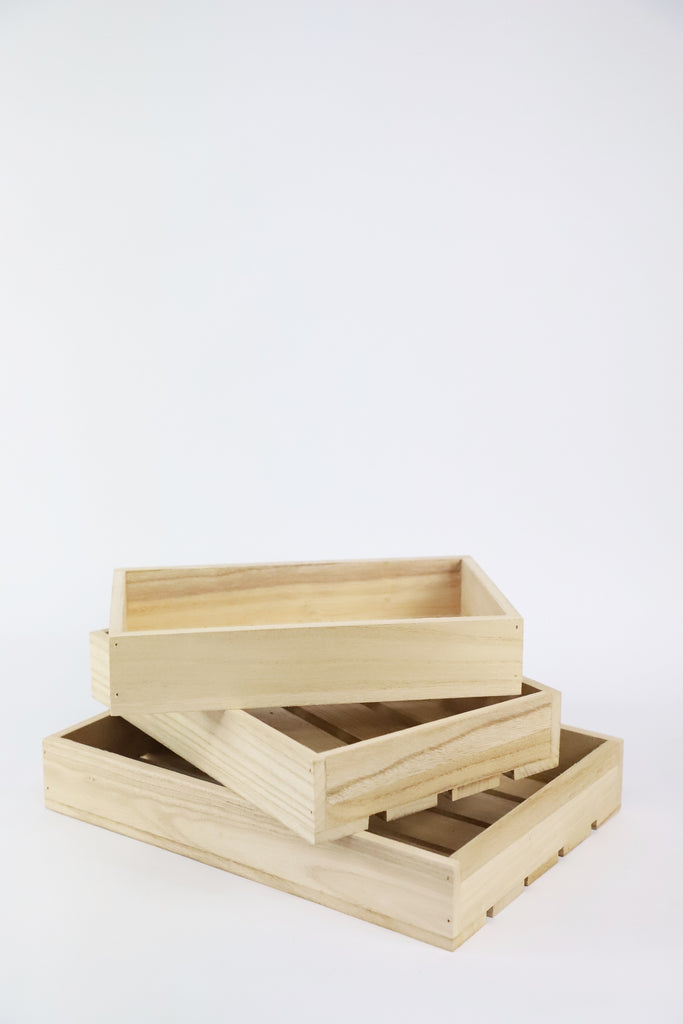Rectangle Wooden Trays