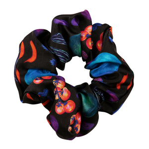 Airmiles Scrunchie in Black