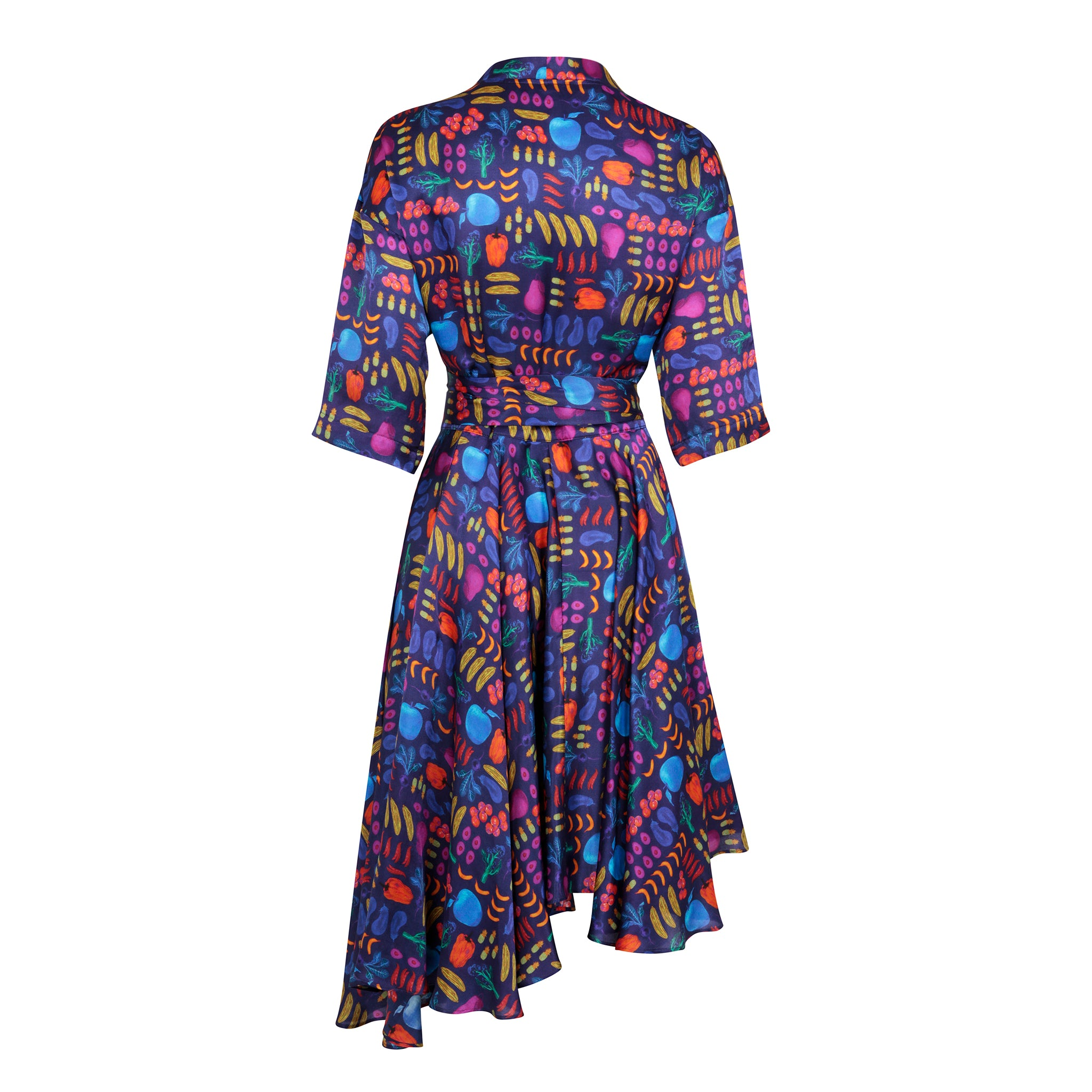 Airmiles Wrap Dress