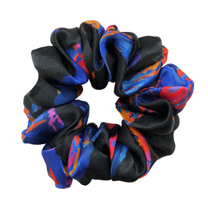 Climate Scrunchie in Black