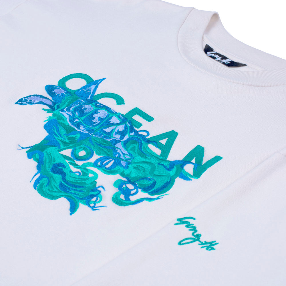 Ocean Embroidered Sweatshirt