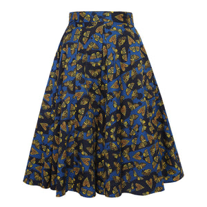 Tiger Moth Wrap Skirt