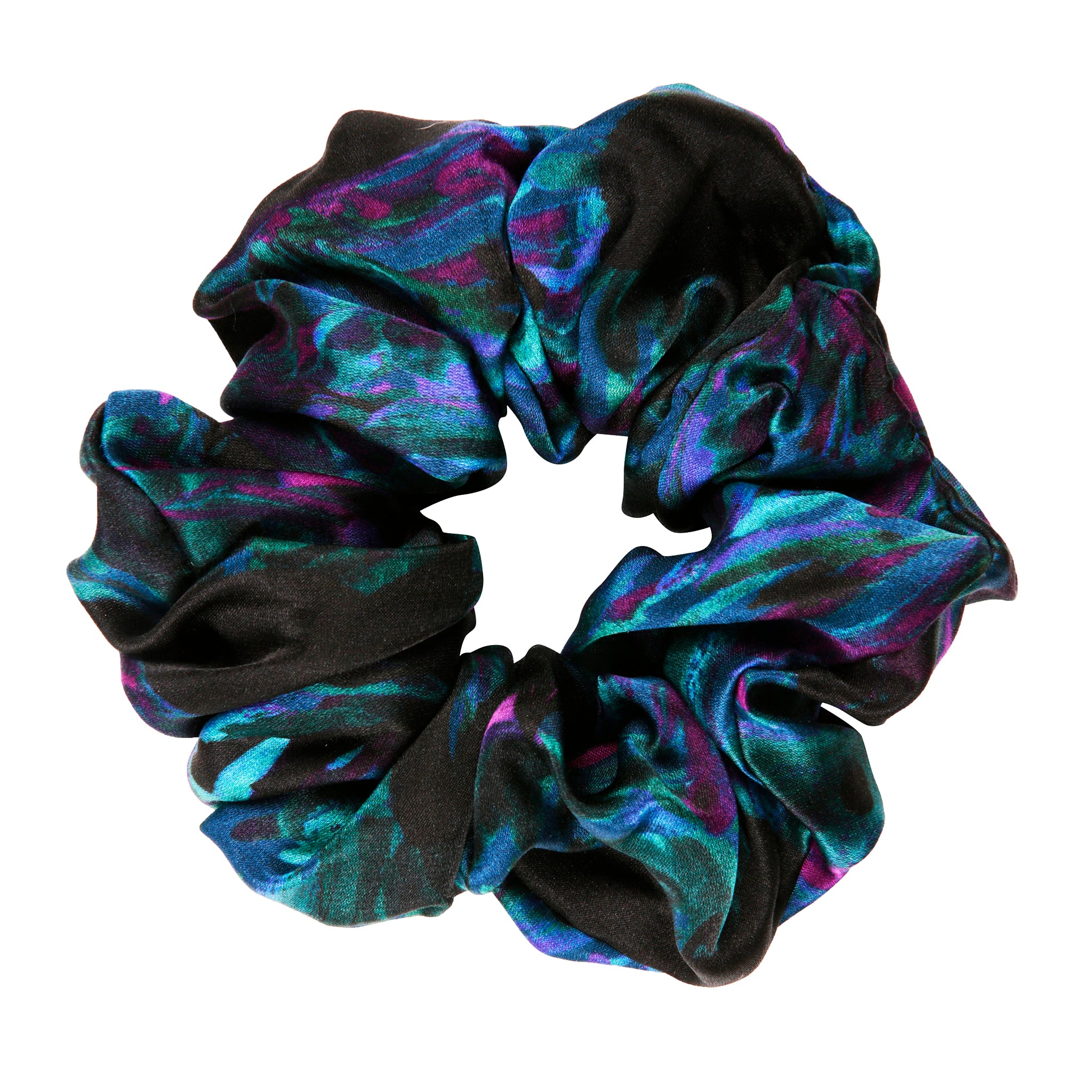 Water Scrunchie in Black