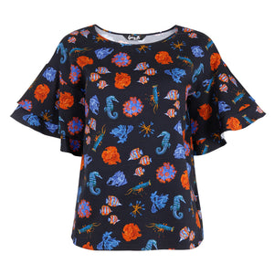 Coral Reef Statement Top