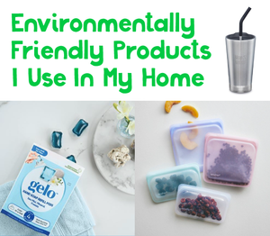 Environmentally Friendly Products I Use In My Home