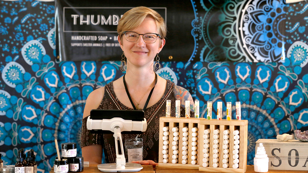 Katie Adams of Thumbprint Soap