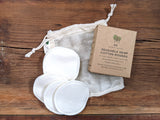 Organic Cotton Rounds | Reusable Makeup Remover Face Wipes
