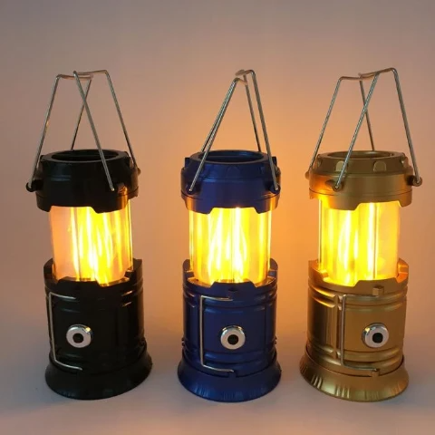 3-in-1 LED Flame Camping Lantern 【FLASH SALE - 60% OFF】