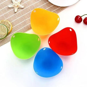 Silicone Egg Poaching Cups - 4 Pieces【Limited Time Sale- 50% OFF】