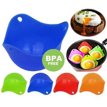 Load image into Gallery viewer, Silicone Egg Poaching Cups - 4 Pieces【Limited Time Sale- 50% OFF】