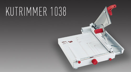 "MBM Triumph TRIMMER 1038 14 3/4"" tabletop - Justbinding.com"