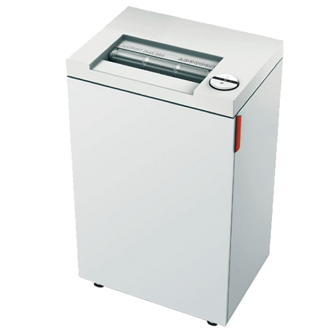2465 deskside strip-cut shredder