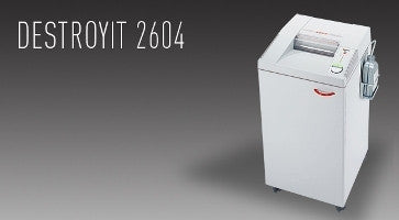 2604 centralized office shredder MICRO cut